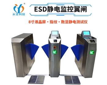 指纹识别ESD防静电门禁监控系统